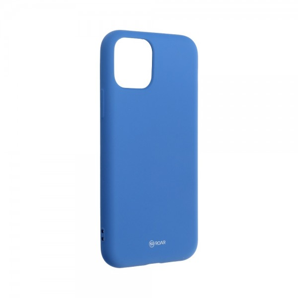 Husa Spate Silicon Roar Jelly Compatibila Cu iPhone 11 Pro, Navy Albastru imagine itelmobile.ro 2021