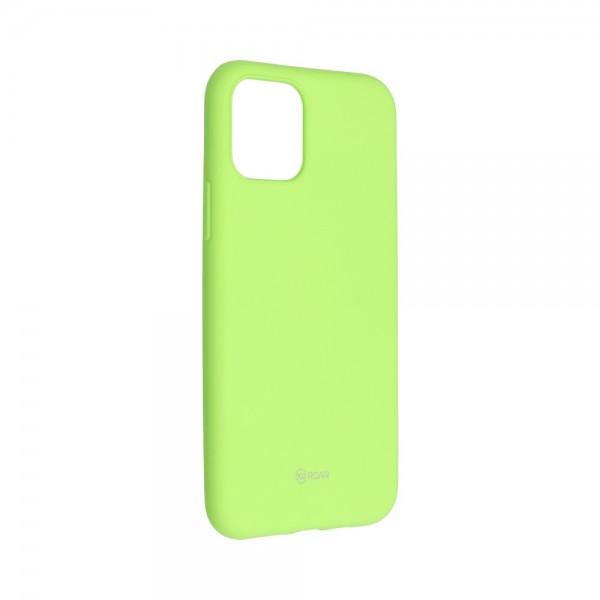 Husa Spate Silicon Roar Jelly Compatibila Cu iPhone 11 Pro Max, Verde Lime imagine itelmobile.ro 2021