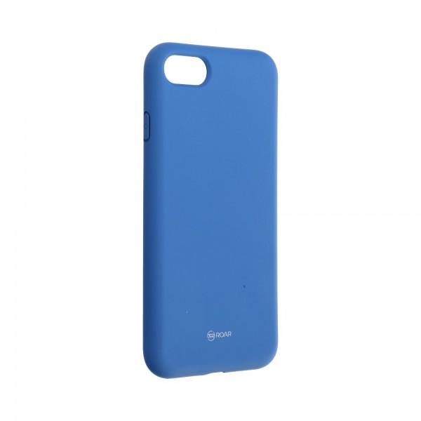 Husa Spate Silicon Roar Jelly Compatibila Cu iPhone 7 / 8 / Se 2 ( 2020 ), Navy Albastru imagine itelmobile.ro 2021