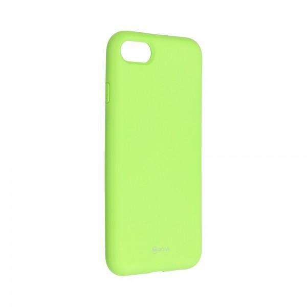 Husa Spate Silicon Roar Jelly Compatibila Cu iPhone 7 / 8 / Se 2 ( 2020 ), Verde Lime imagine itelmobile.ro 2021