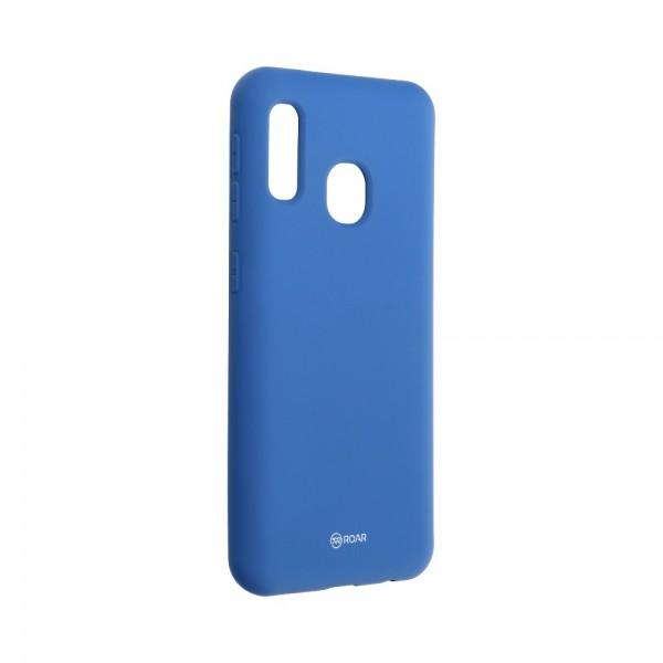 Husa Spate Silicon Roar Jelly Compatibila Cu Samsung Galaxy A20e, Navy Albastru imagine itelmobile.ro 2021