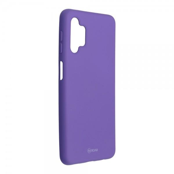 Husa Spate Silicon Roar Jelly Compatibila Cu Samsung Galaxy A32 5G, Mov imagine itelmobile.ro 2021