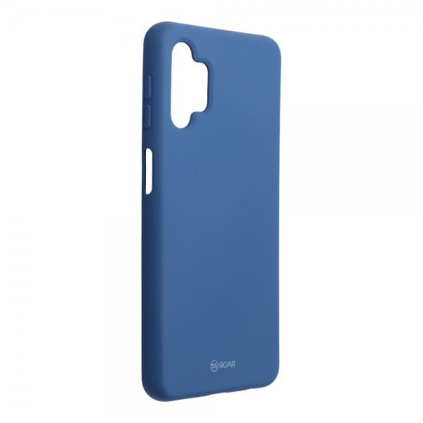 Husa Spate Silicon Roar Jelly Compatibila Cu Samsung Galaxy A32 5G, Navy Albastru imagine itelmobile.ro 2021
