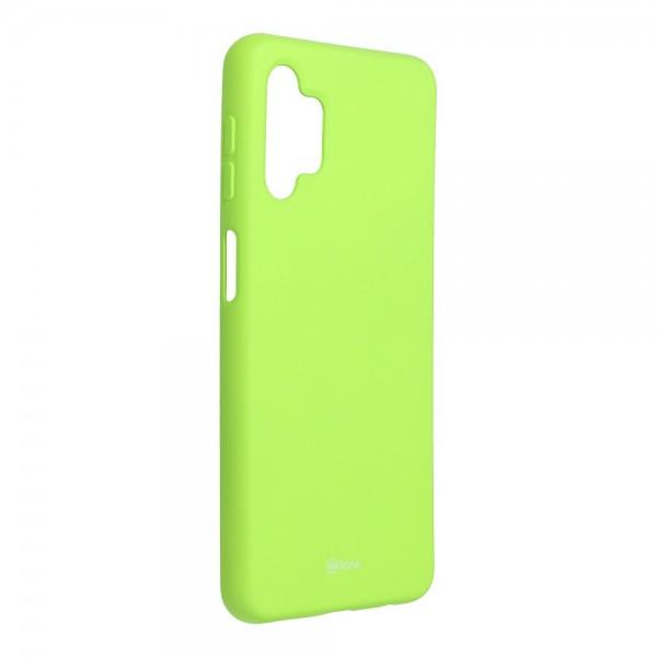 Husa Spate Silicon Roar Jelly Compatibila Cu Samsung Galaxy A32 5G, Verde Lime imagine itelmobile.ro 2021