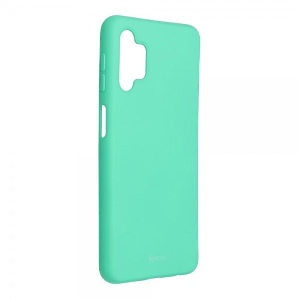 Husa Spate Silicon Roar Jelly Compatibila Cu Samsung Galaxy A32 5G, Verde Menta imagine itelmobile.ro 2021