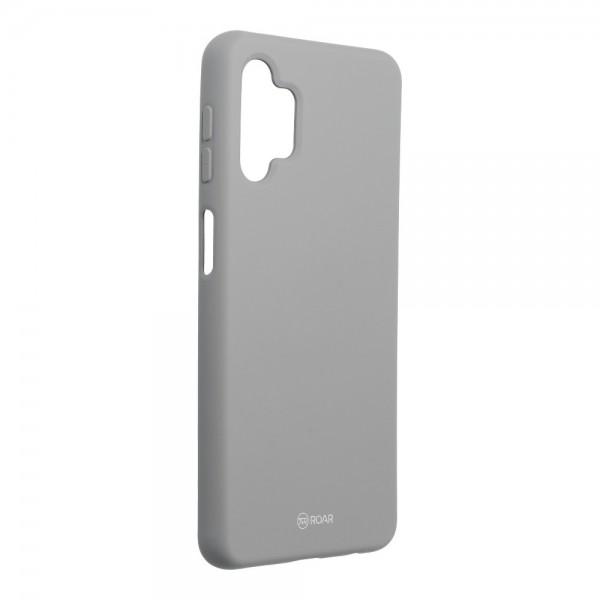Husa Spate Silicon Roar Jelly Compatibila Cu Samsung Galaxy A32 5G, Gri imagine itelmobile.ro 2021