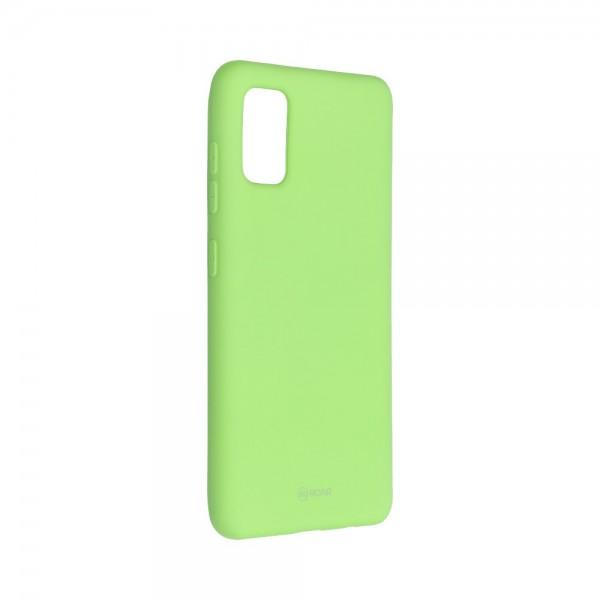 Husa Spate Silicon Roar Jelly Compatibila Cu Samsung Galaxy A41, Verde Lime imagine itelmobile.ro 2021