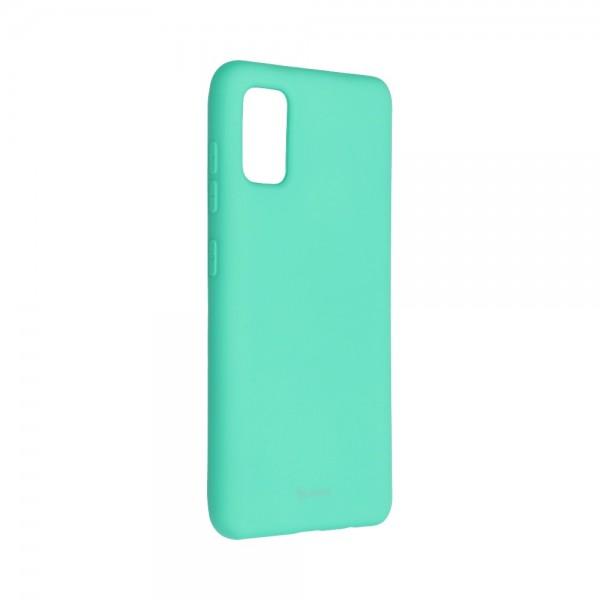 Husa Spate Silicon Roar Jelly Compatibila Cu Samsung Galaxy A41, Verde Menta imagine itelmobile.ro 2021