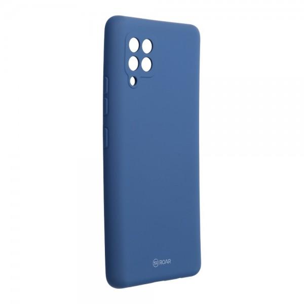 Husa Spate Silicon Roar Jelly Compatibila Cu Samsung Galaxy A42 5G, Navy Albastru imagine itelmobile.ro 2021