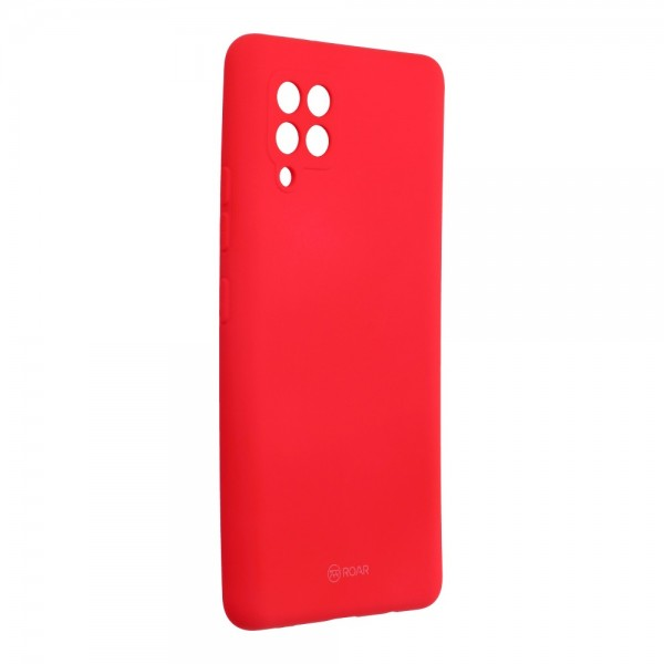 Husa Spate Silicon Roar Jelly Compatibila Cu Samsung Galaxy A42 5G, Roz Aprins imagine itelmobile.ro 2021