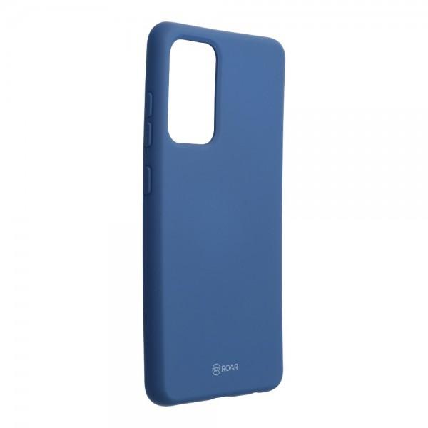 Husa Spate Silicon Roar Jelly Compatibila Cu Samsung Galaxy A52 5G, Navy Albastru imagine itelmobile.ro 2021