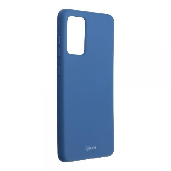 Husa Spate Silicon Roar Jelly Compatibila Cu Samsung Galaxy A72 5G, Navy Albastru imagine itelmobile.ro 2021