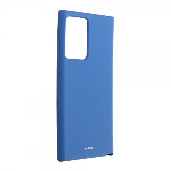 Husa Spate Silicon Roar Jelly Compatibila Cu Samsung Galaxy Note 20 Ultra, Navy Albastru imagine itelmobile.ro 2021