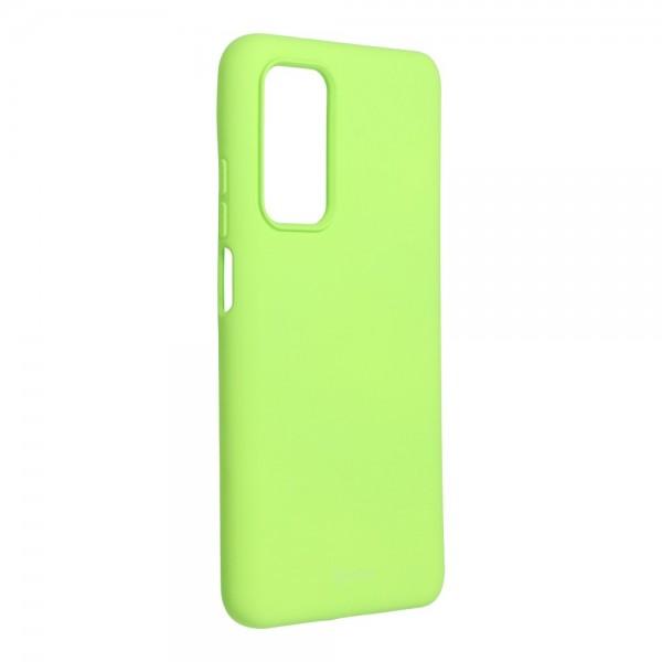 Husa Spate Silicon Roar Jelly Compatibila Cu Xiaomi Mi 10T 5G / Mi 10T Pro 5G, Verde Lime imagine itelmobile.ro 2021