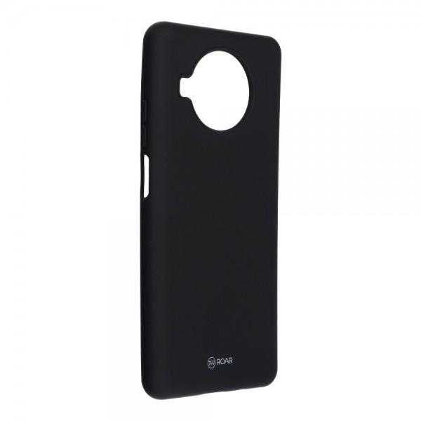 Husa Spate Silicon Roar Jelly Compatibila Cu Xiaomi Mi 10T Lite 5G, Negru imagine itelmobile.ro 2021