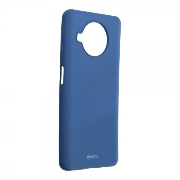 Husa Spate Silicon Roar Jelly Compatibila Cu Xiaomi Mi 10T Lite 5G, Navy Albastru imagine itelmobile.ro 2021