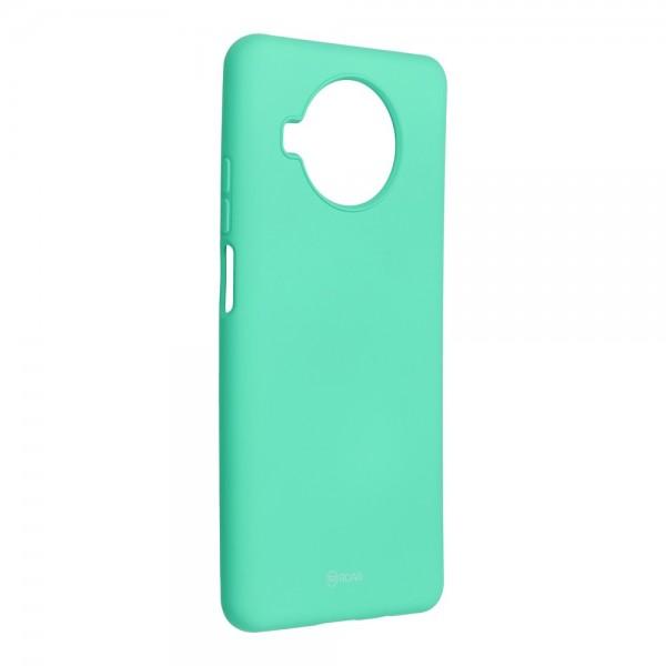Husa Spate Silicon Roar Jelly Compatibila Cu Xiaomi Mi 10T Lite 5G, Verde Menta imagine itelmobile.ro 2021