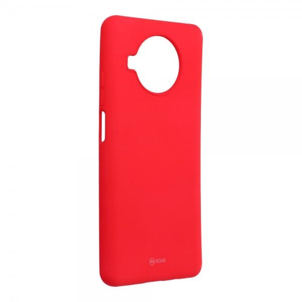 Husa Spate Silicon Roar Jelly Compatibila Cu Xiaomi Mi 10T Lite 5G, Roz Aprins imagine itelmobile.ro 2021