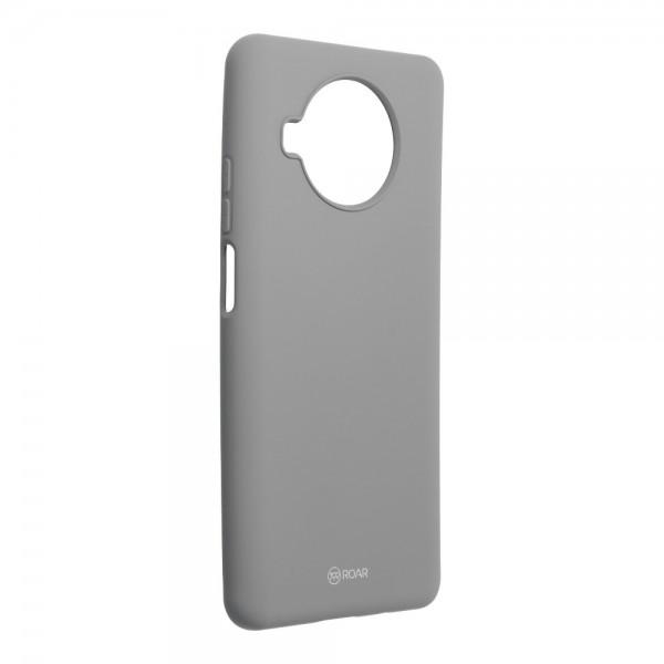 Husa Spate Silicon Roar Jelly Compatibila Cu Xiaomi Mi 10T Lite 5G, Gri imagine itelmobile.ro 2021