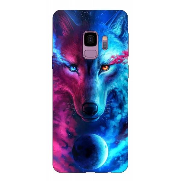 Husa Silicon Soft Upzz Print Compatibila Cu Samsung Galaxy S9 Model Wolf imagine itelmobile.ro 2021