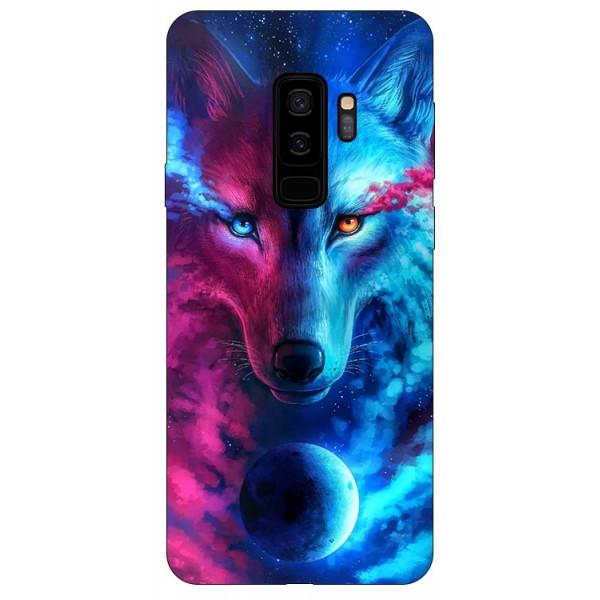 Husa Silicon Soft Upzz Print Compatibila Cu Samsung Galaxy S9+ Plus Model Wolf imagine itelmobile.ro 2021