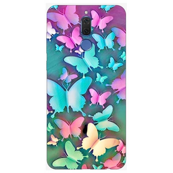Husa Silicon Soft Upzz Print Compatibila Cu Huawei Mate 10 Lite Model Colorfull Butterflies imagine itelmobile.ro 2021