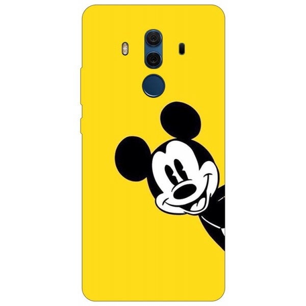 Husa Silicon Soft Upzz Print Compatibila Cu Huawei Mate 10 Pro Model Cartoon imagine itelmobile.ro 2021