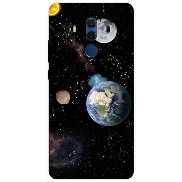 Husa Silicon Soft Upzz Print Compatibila Cu Huawei Mate 10 Pro Model Earth imagine itelmobile.ro 2021