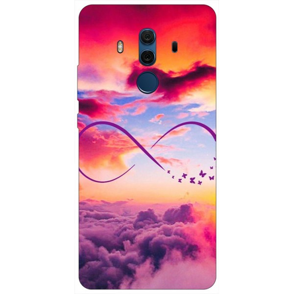 Husa Silicon Soft Upzz Print Compatibila Cu Huawei Mate 10 Pro Model Infinity imagine itelmobile.ro 2021