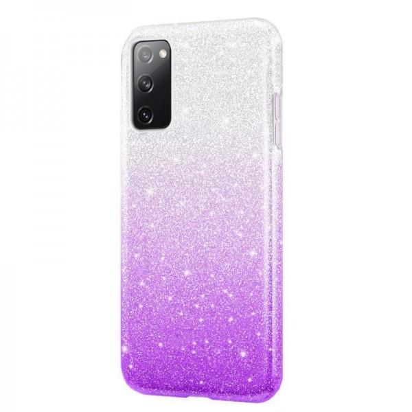 Husa Spate Upzz Shiny Compatibila Cu Samsung Galaxy A02s, Mov imagine itelmobile.ro 2021