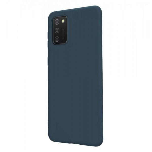Husa Ultra Slim Upzz Candy Compatibila Cu Samsung A02s, Navy Albastru imagine itelmobile.ro 2021