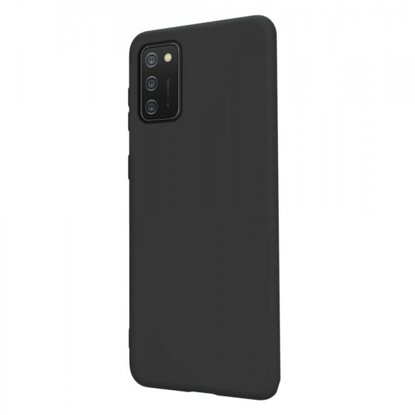 Husa Ultra Slim Upzz Candy Compatibila Cu Samsung A02s, Negru imagine itelmobile.ro 2021