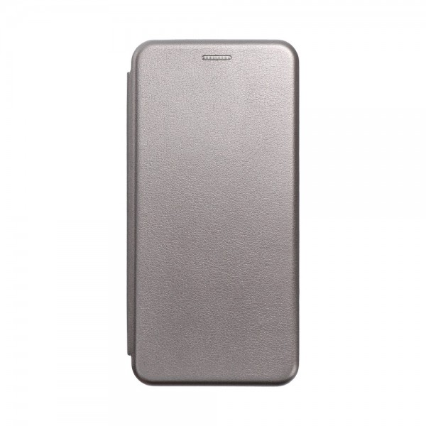 Husa Flip Carte Cu Magnet Lux Upzz Compatibila Cu Samsung Galaxy A02s, Piele Ecologica, Silver imagine itelmobile.ro 2021