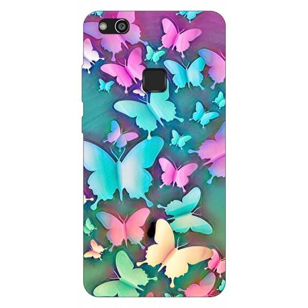 Husa Silicon Soft Upzz Print Compatibila Cu Huawei P10 Lite Model Colorfull Butterflies imagine itelmobile.ro 2021