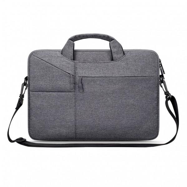 Husa Upzz Tech Protect PocketBag Compatibila Cu Laptop 15 - 16inch, Gri imagine itelmobile.ro 2021