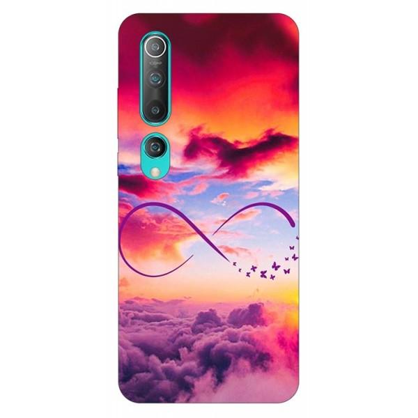 Husa Silicon Soft Upzz Print Compatibila Cu Xiaomi Mi 10 Pro/Mi 10 Model Infinity imagine itelmobile.ro 2021