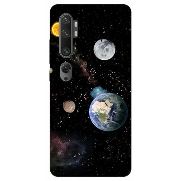 Husa Silicon Soft Upzz Print Compatibila Cu Xiaomi Mi Note 10/ Mi Note 10 Pro Model Earth imagine itelmobile.ro 2021