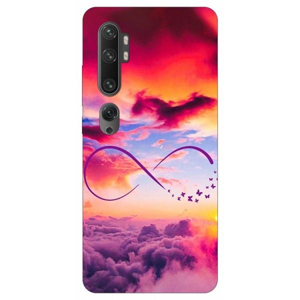 Husa Silicon Soft Upzz Print Compatibila Cu Xiaomi Mi Note 10/ Mi Note 10 Pro Model Infinity imagine itelmobile.ro 2021