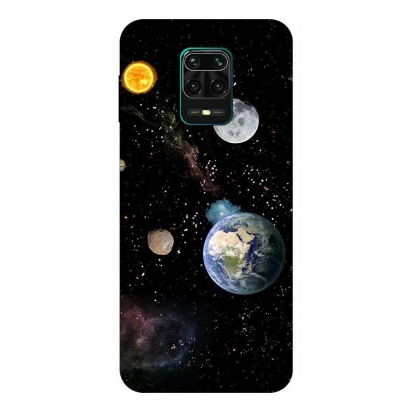 Husa Silicon Soft Upzz Print Compatibila Cu Xiaomi Redmi Note 9 Pro Model Earth imagine itelmobile.ro 2021