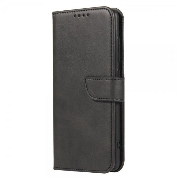 Husa Premium Upzz Magnetic Book Compatibila Cu Samsung Galaxy A51, Piele Ecologica - Negru imagine itelmobile.ro 2021
