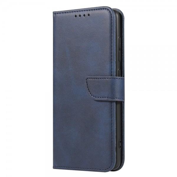 Husa Premium Upzz Magnetic Book Compatibila Cu Samsung Galaxy A51, Piele Ecologica - Albastru imagine itelmobile.ro 2021