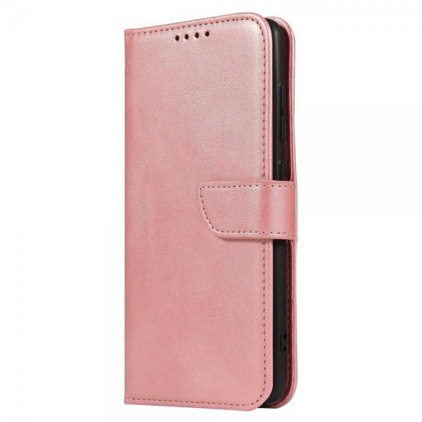 Husa Premium Upzz Magnetic Book Compatibila Cu Samsung Galaxy A51, Piele Ecologica - Roz imagine itelmobile.ro 2021