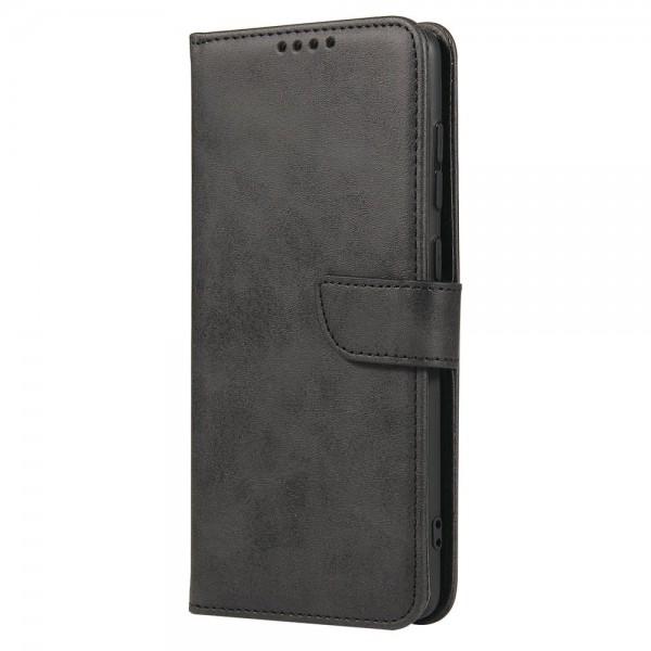 Husa Premium Upzz Magnetic Book Compatibila Cu Samsung Galaxy A71, Piele Ecologica - Negru imagine itelmobile.ro 2021