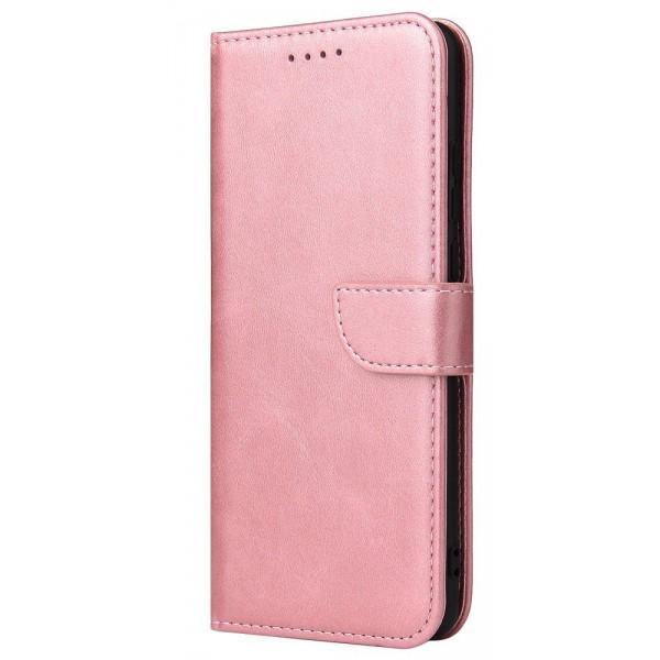 Husa Premium Upzz Magnetic Book Compatibila Cu Huawei P30 Pro, Piele Ecologica - Roz imagine itelmobile.ro 2021