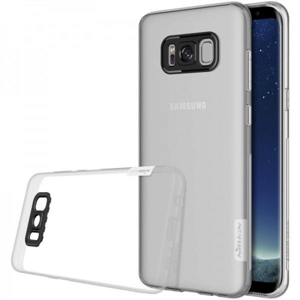 Husa Slim Samsung S8 Plus G955f Nillkin Nature Transparenta imagine itelmobile.ro 2021