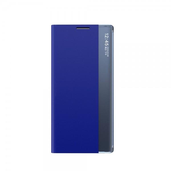 Husa Tip Carte Upzz Eco Book Compatibila Cu Samsung Galaxy A12, Piele Ecologica - Albastru imagine itelmobile.ro 2021
