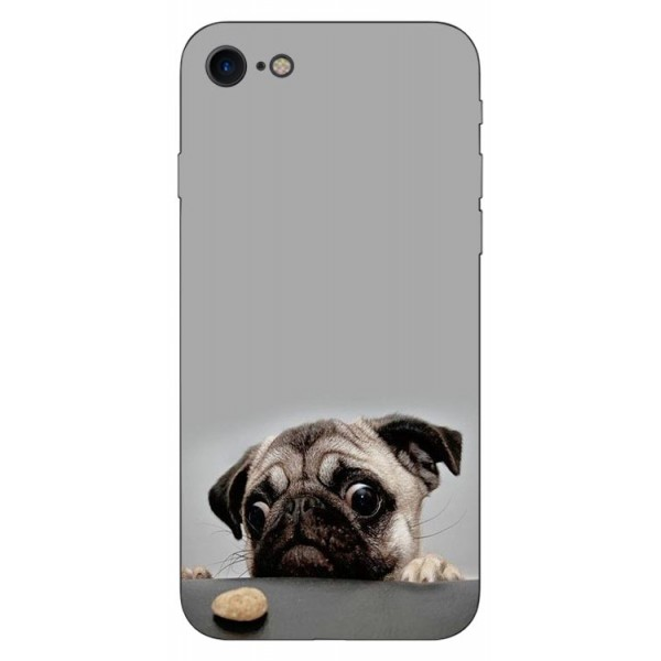 Husa Silicon Soft Upzz Print Compatibila Cu Iphone 7/ Iphone 8 Model Dog imagine itelmobile.ro 2021