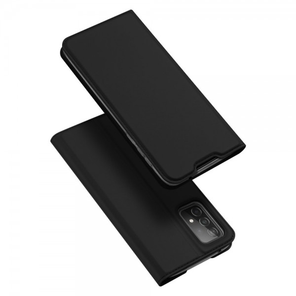 Husa Premium Flip Cover DuxDucis Skin Pro Compatibila Cu Samsung Galaxy A52 5G, Negru imagine itelmobile.ro 2021