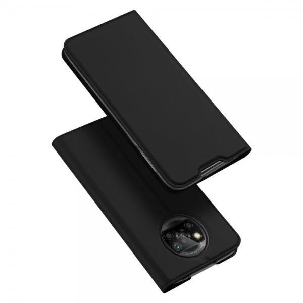 Husa Premium Flip Cover DuxDucis Skin Pro Compatibila Cu Xiaomi Poco M3 / Redmi 9T, Negru imagine itelmobile.ro 2021