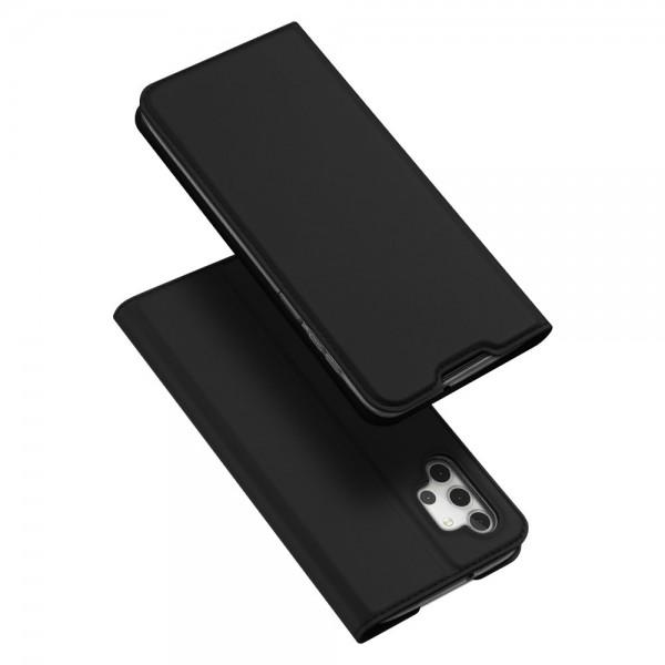 Husa Premium Flip Cover DuxDucis Skin Pro Compatibila Cu Samsung Galaxy A32 5G, Negru imagine itelmobile.ro 2021